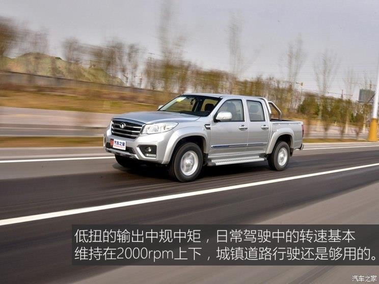 长城汽车 风骏6 2017款 2.0t柴油四驱精英型4d20d
