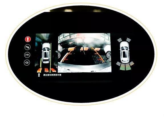 通过反光镜上的小圆点警示灯可以提醒驾驶员盲区是否有车.