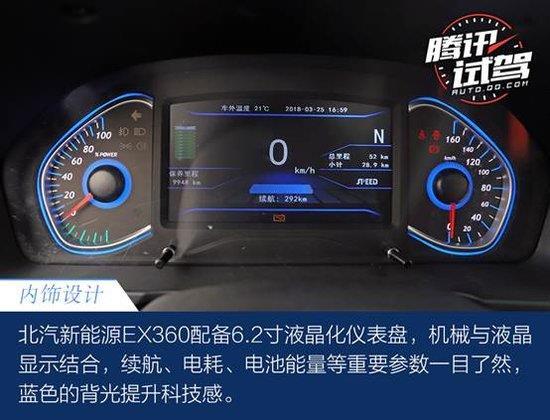 新时代国民纯电动SUV 试驾北汽新能源EX360