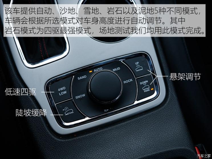 Jeep(进口) 大切诺基(进口) 2018款 3.6L 高性能四驱版