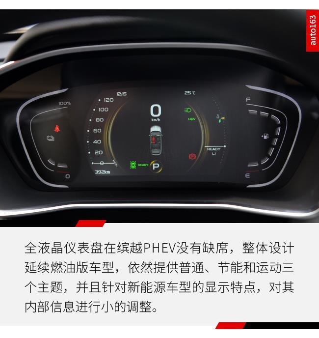 实力不容小视 网易汽车实拍吉利缤越PHEV
