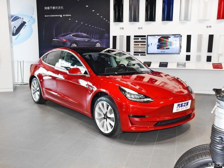 特斯拉(进口) Model 3(进口) 2018款 基本型