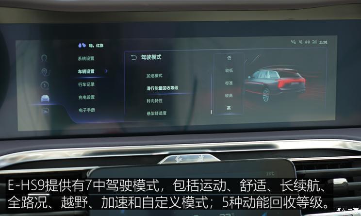 一汽红旗 红旗E-HS9 2021款 高配版