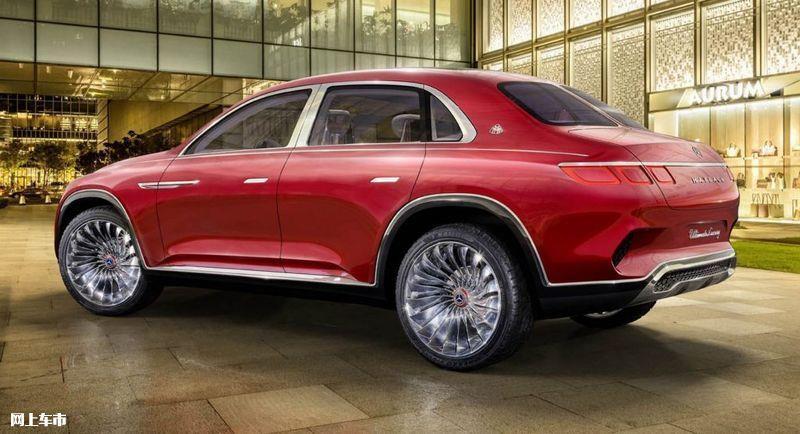 梅赛德斯-迈巴赫概念车将投产搭4电机/外观跨界-图3