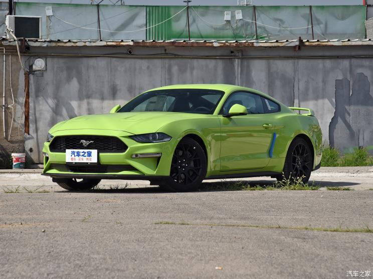 福特(进口) Mustang 2020款 2.3L EcoBoost 驰影性能进阶版