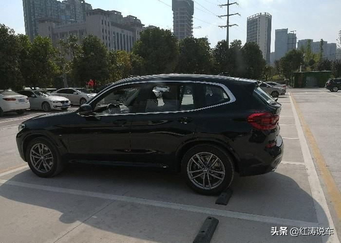 2020款寶馬X3更出色,已經有網友提車,而且還是很有質感的炭黑色