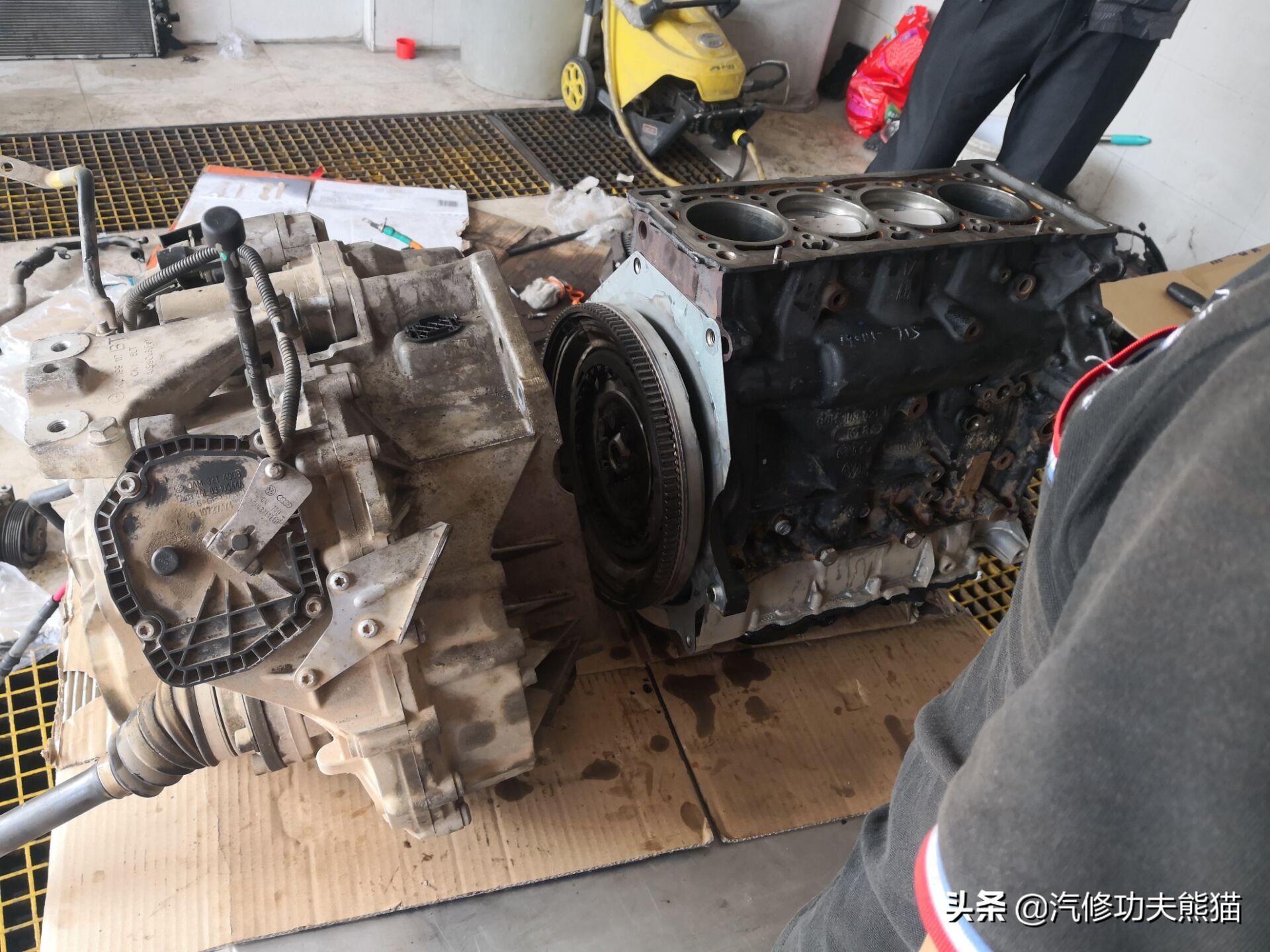 上汽大眾帕薩特燒機油大修并首次試用能徹底分離的專利油氣分離器