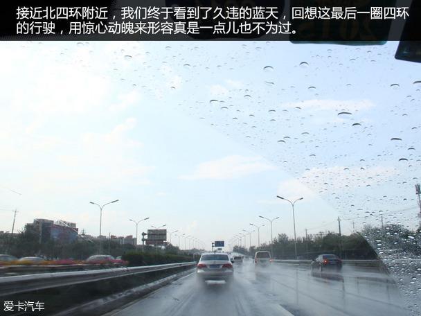 驚心動魄的暴雨 愛麗舍四環油耗測試