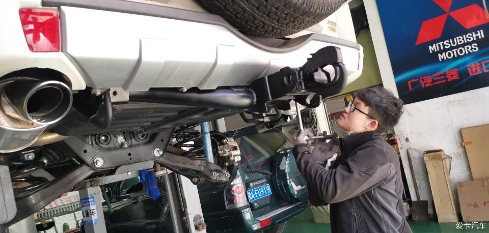屬于男人的座駕,喜提二手帕杰羅V97準新車,用車改裝分享