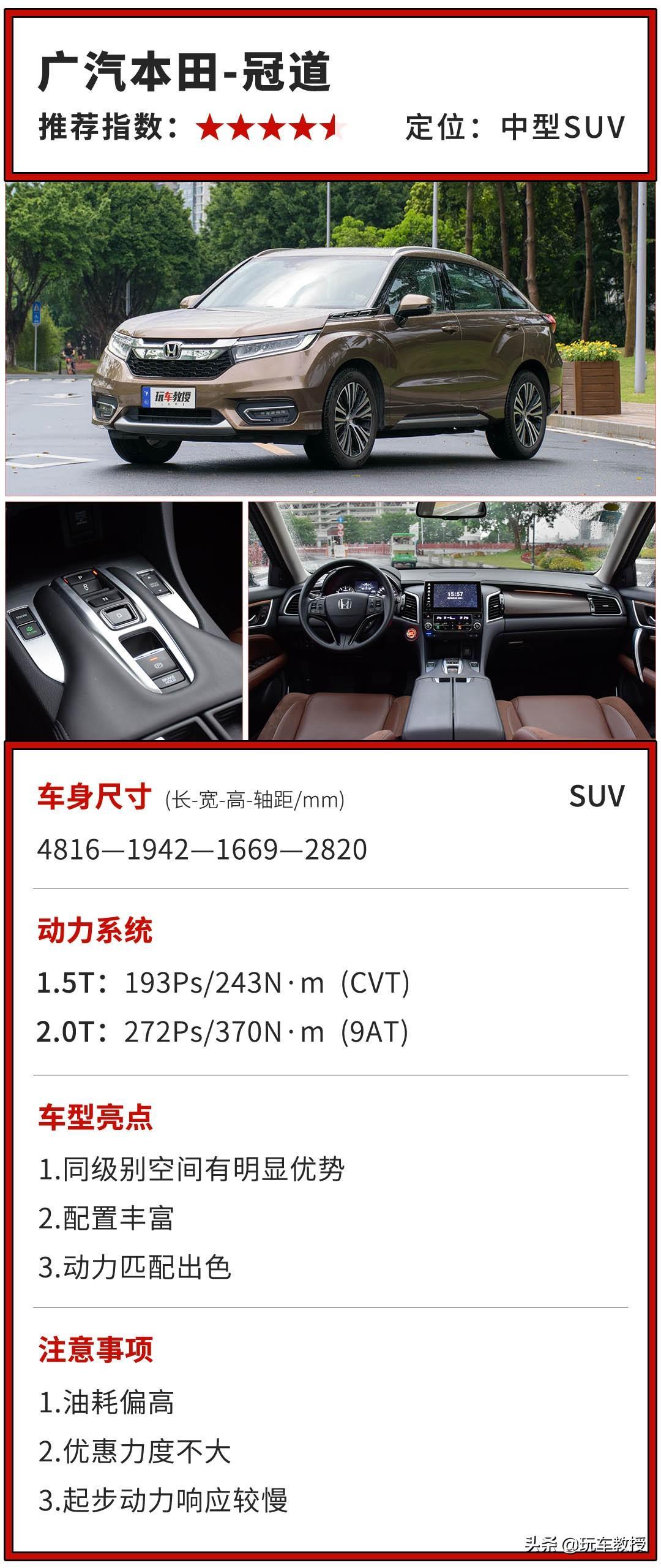 9AT就是爽,好開順滑更省油,20來萬這幾款SUV值得一看