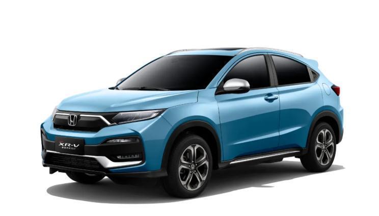2021款本田XR-V正式上市 售12.79-17.59萬元