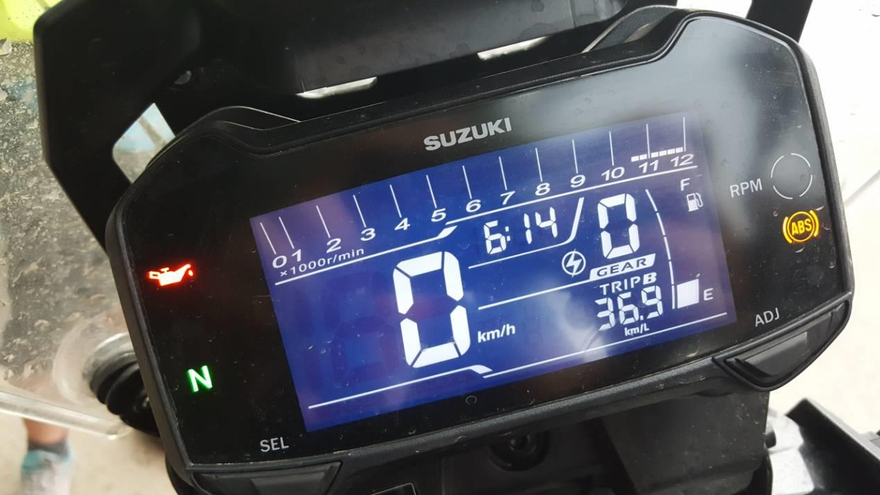 自由之旅騎行報告!DL250一箱油跑716km,百公里耗油2.5L?