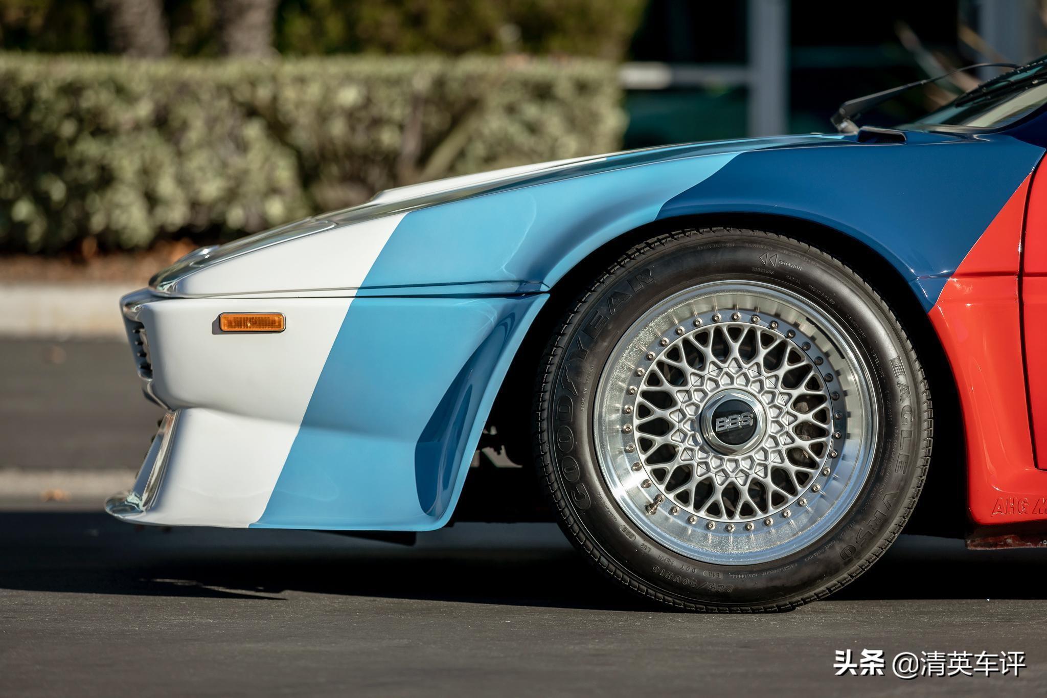 寶馬傳奇跑車M1拍賣 前任車主是保羅沃克
