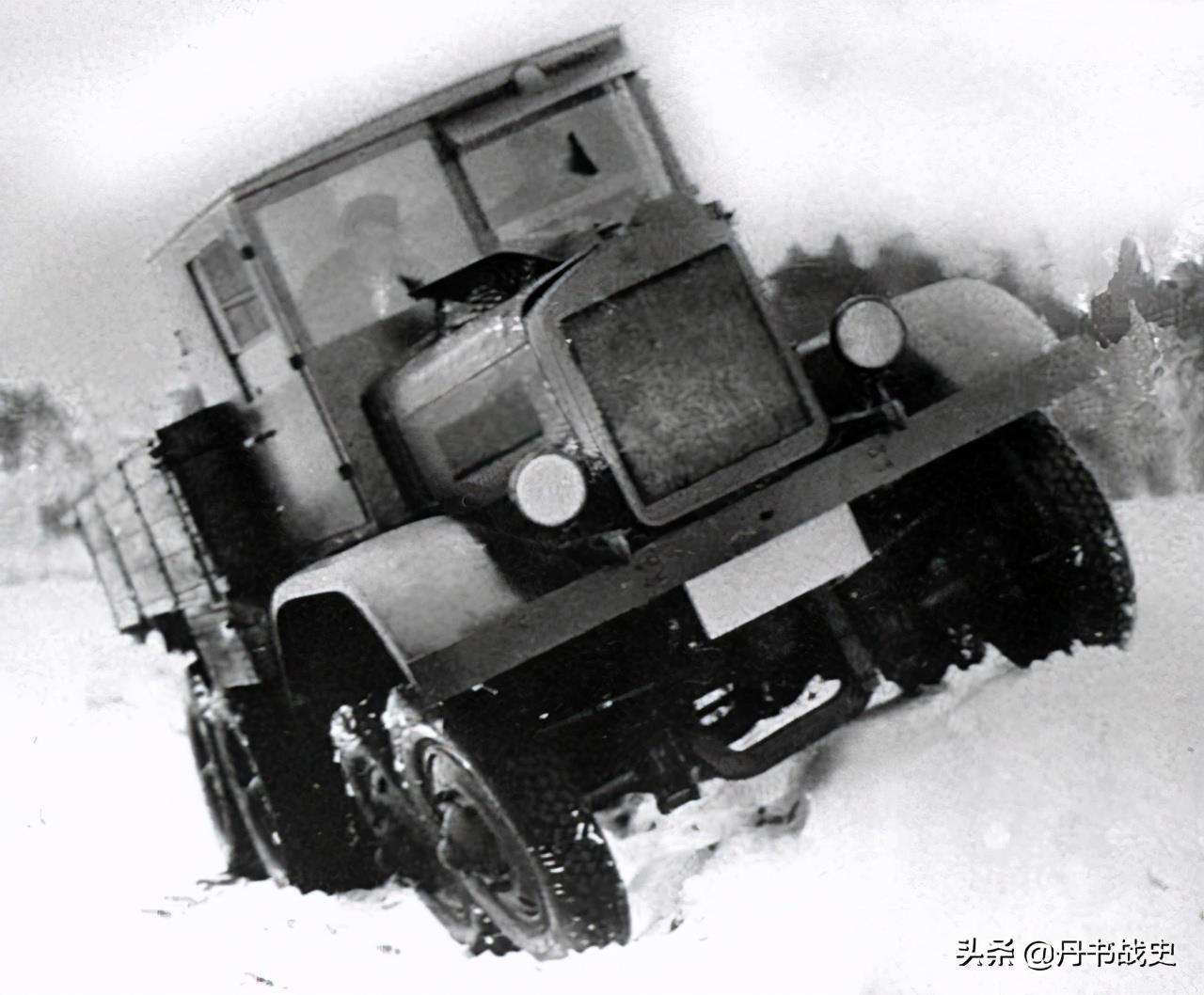 二戰前的蘇聯YAG-12卡車,因為太復雜被迫放棄量產