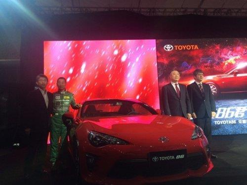 售24.98-28.78萬元 新款豐田86正式上市