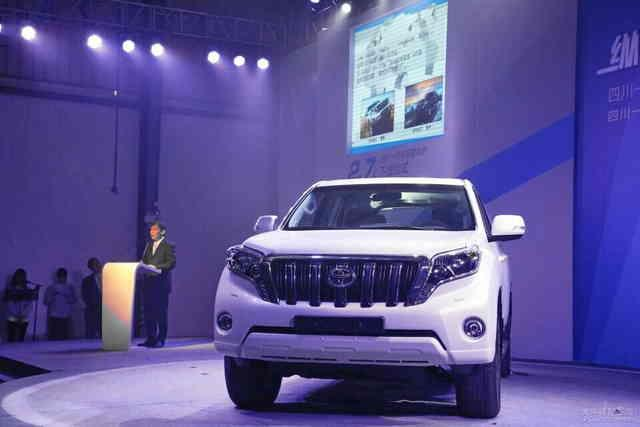 一汽豐田普拉多2.7L車型售36.98-42.98萬