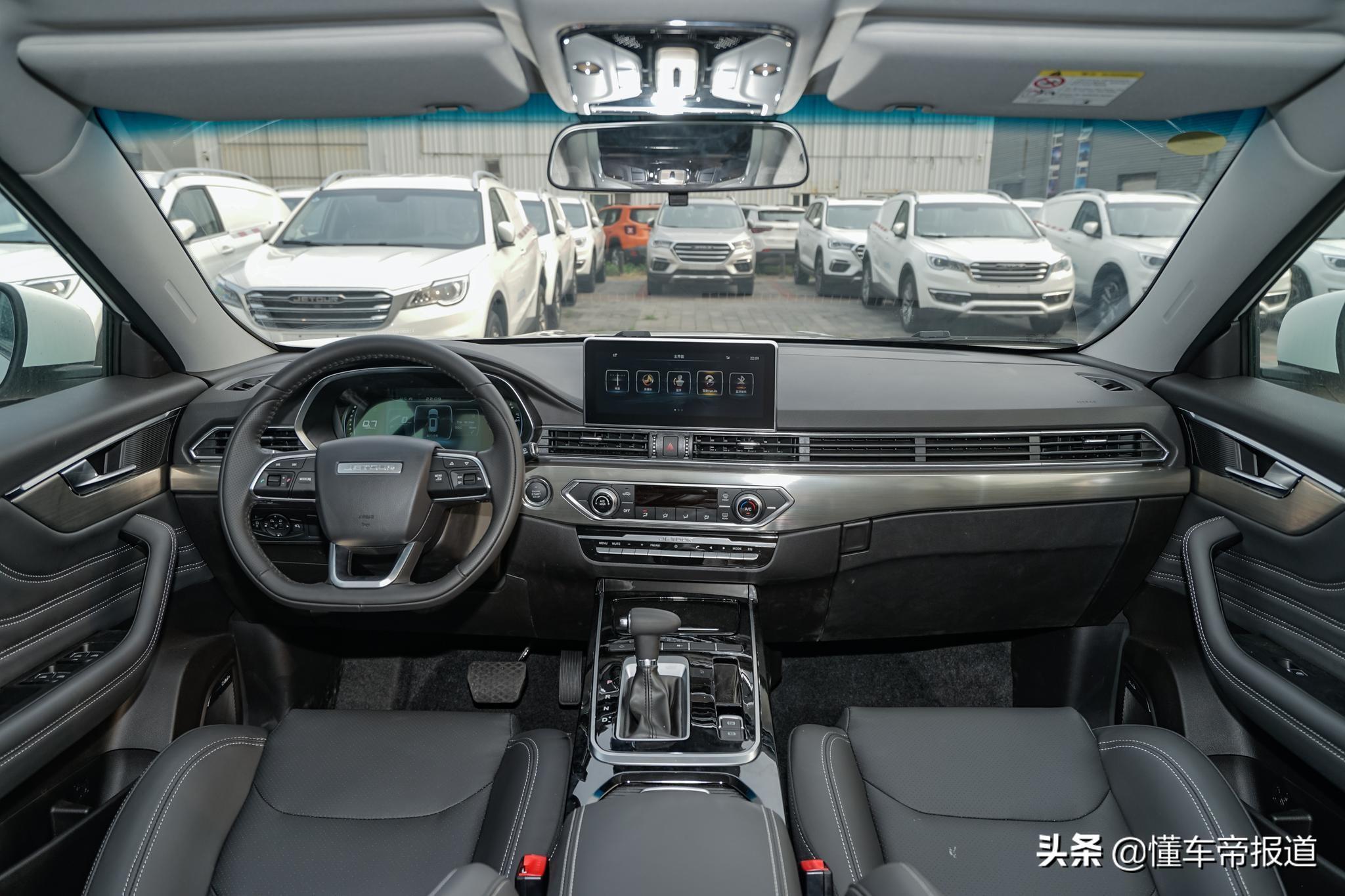 新車|售15.69萬,捷途新SUV上市,比哈弗H6頂配貴兩千