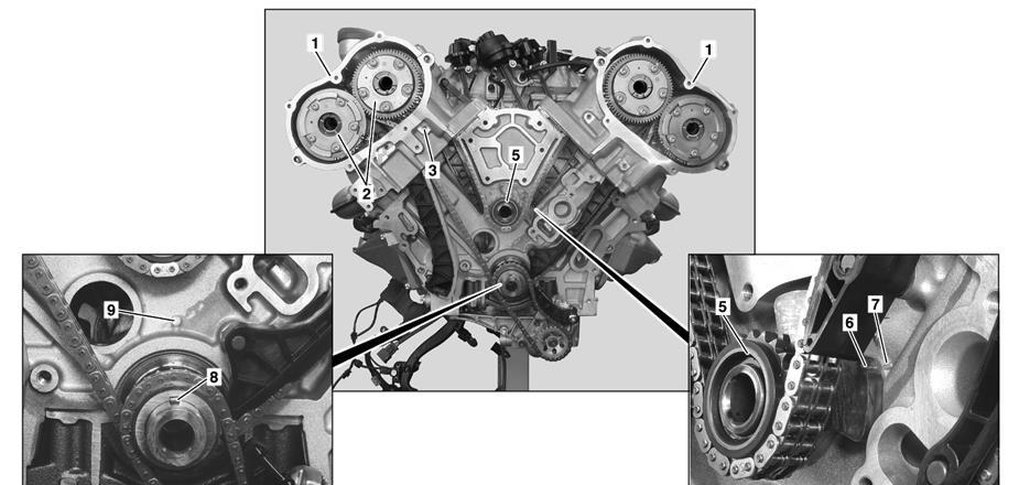 詳細!奔馳E280 M272發動機正時校對