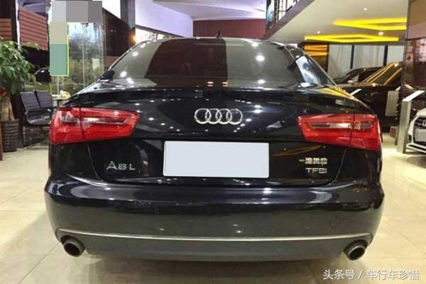 2012年二手A6L标准型为啥比豪华型的保值率高?