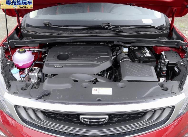吉利帝豪GS搭载1.4T发动机,外观造型实在是看不出廉价