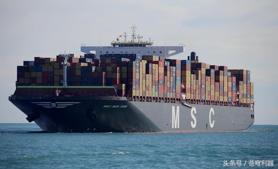全球十大集装箱货轮