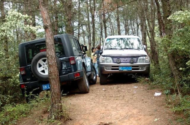 过窄路时咋开才能不被剐蹭?老司机:用这4招,谁都别想蹭到你车