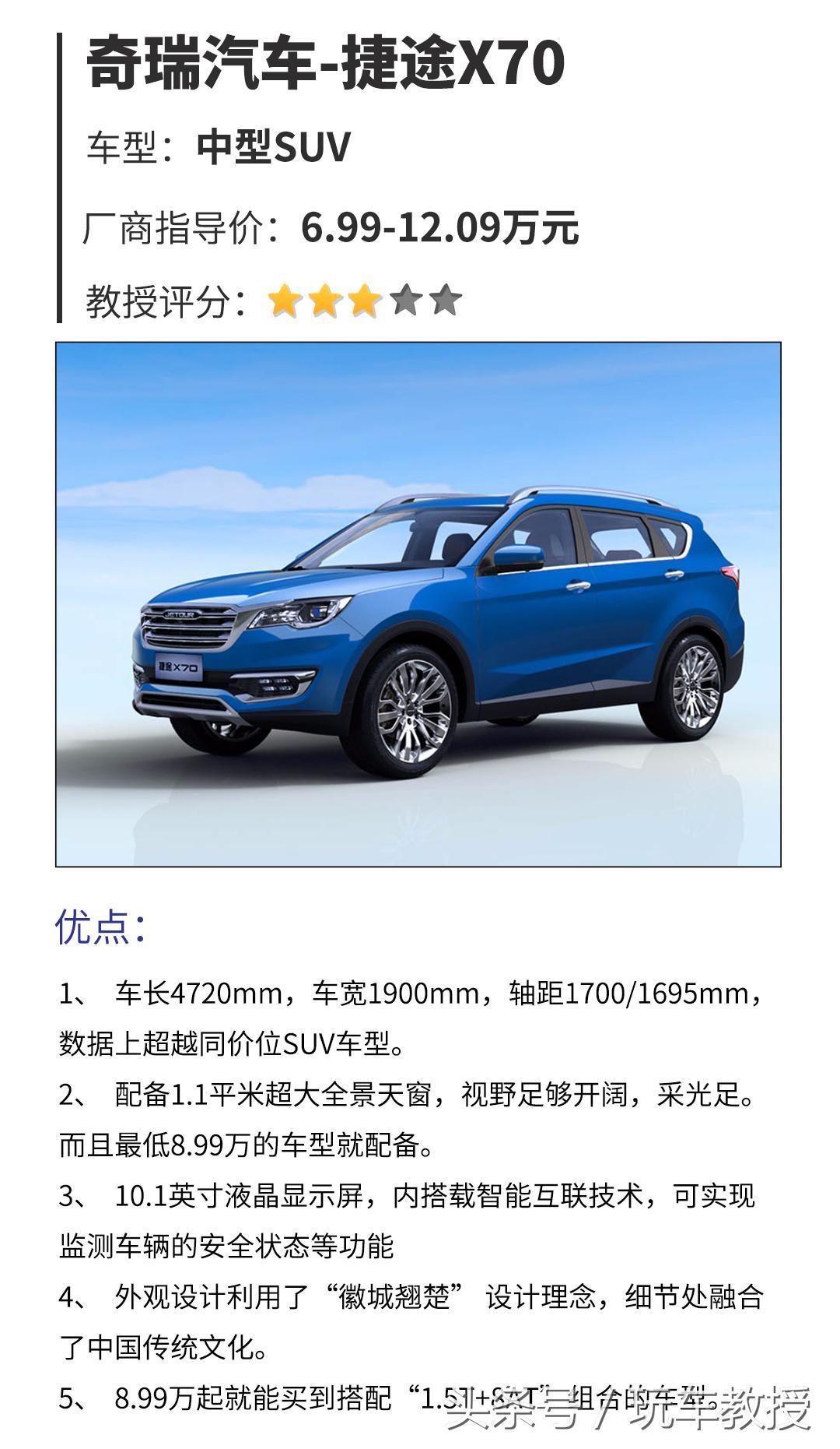 不到10万买4米7中型SUV,有这样的便宜事?