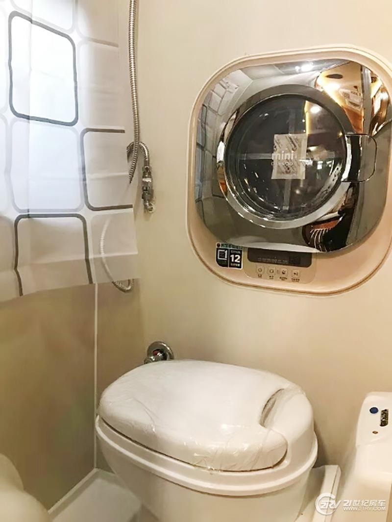 B型车也可以有洗衣机!这款26.8万的大通房车有啥不一样