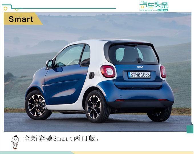 车身更短,Smart两门版、四门版正式发布