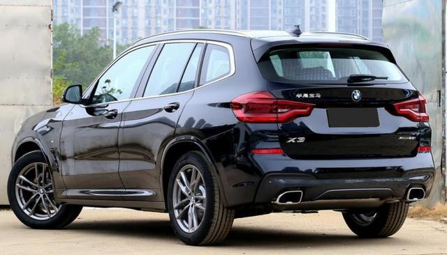 价格坚挺的宝马X3!28i的车型最推荐,那么行情价多少