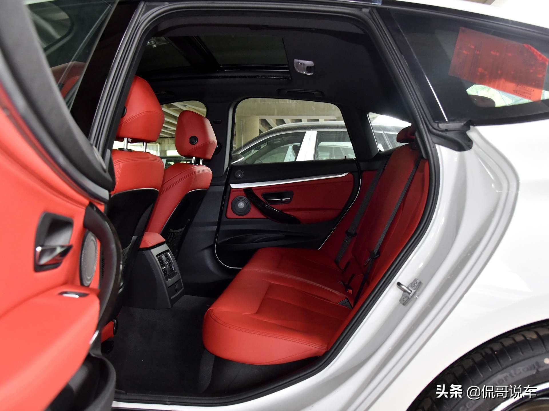 乘坐空间堪比长轴车型,后备厢更好,原装进口,带你看宝马3系GT